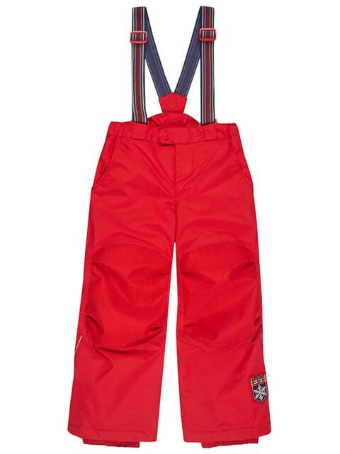 Finkid Romppa Plus - Pantalones de Trekking Niños - rojo